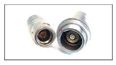 металлические цилиндрические разъемы ODU со специальной вставкой для Ethernet поставщик